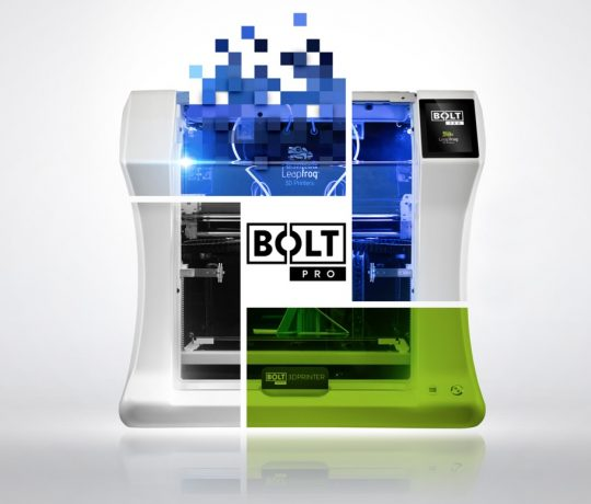 photo de la Leapfrog bolt pro