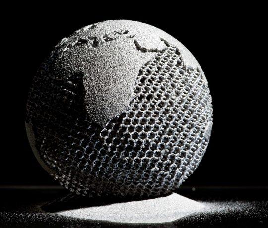 Globe - Metal Additive Manufacturing ARCAM