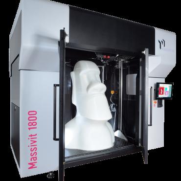Imprimante 3D Massivit très grand volume d'impression