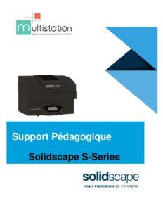 Programme detaillé pour la formation opérateur solidscape 1er niveau