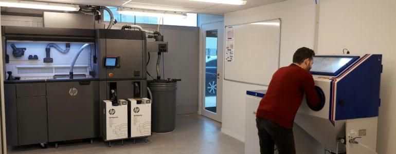 HP Multi Jet Fusion Multistation DIGITEO CEA SACLAY
