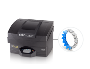 Solidscape S350 3D printing