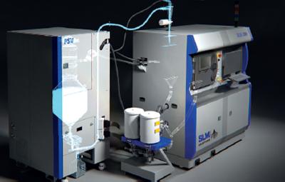 Powder Supply Unit PSV SLM SOLUTIONS 1