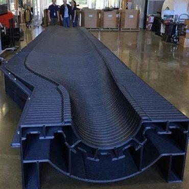 Moule Imprimante 3D BAAM la plus rapide