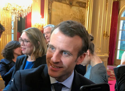 Macron Impression 3D