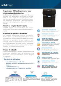 Présentation Solidscape S390
