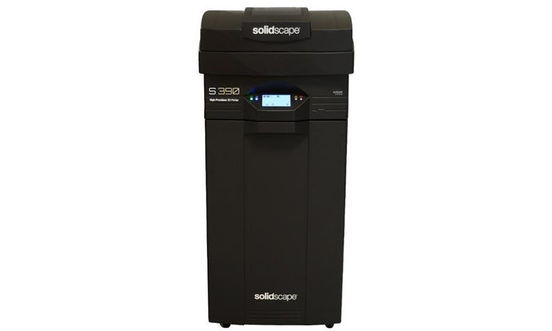 Solidscape S390 high precision 3d-printer jewelry market