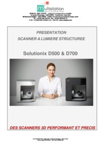 Présentation Solutionix D500 et D700