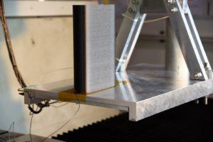 printed trial workpiece METROM