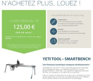 leasing smartbench deoupe