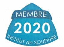 Logo FR membre institut de soudure