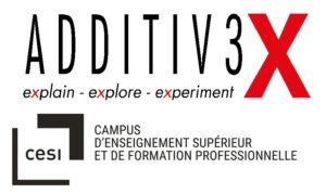 Logo CESI Additiv3X