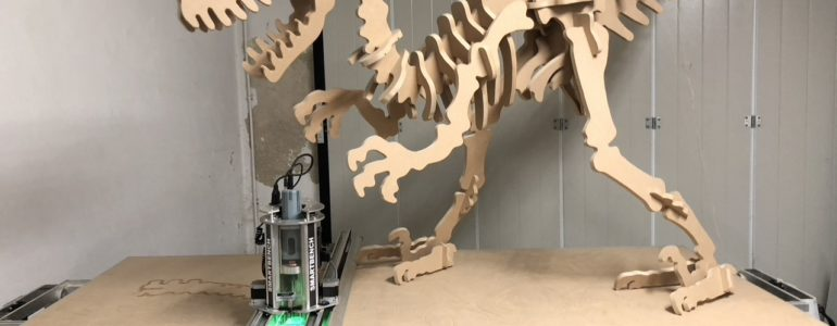 YETI TOOL - Jaimy and his Jurassic Project