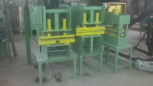 F19.Hydravlic press 40 tones for piercing,cutting ,forming FLAT and CORRUGATE HEATER PLATES,1