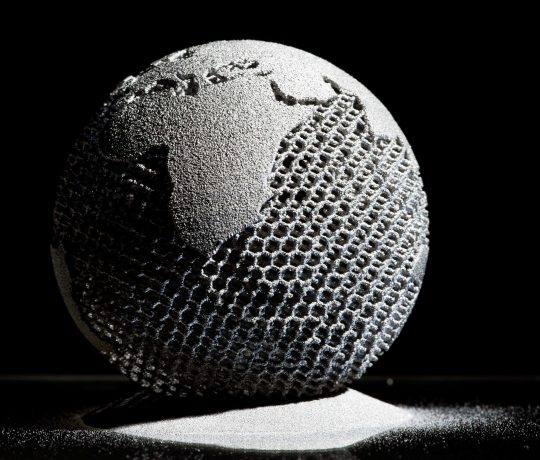 Globe - Metal Additive Manufacturing ARCAM