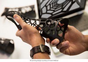 Imprimante 3D de production HP Multi Jet Fusion 3D Printed part