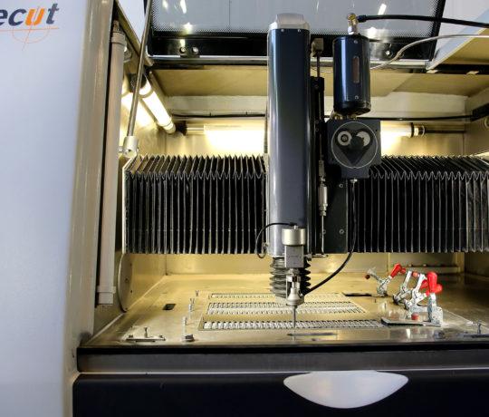 Finepart machine waterjet