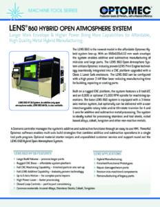 LENS 860 Hybrid OA_0918