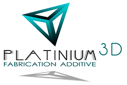 Logo platinium 3d