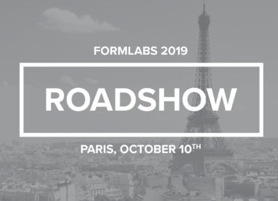 Roadshow Formlabs 2019