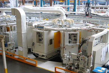 UNIOR Flexible rotary indexing table machines