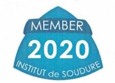 Logo EN membre institut de soudure