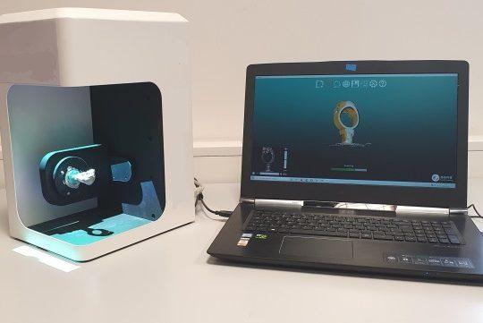 multiScan scanner 3D Joaillerie