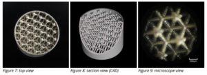 3D MICRO PRINT Case Study lattice structures
