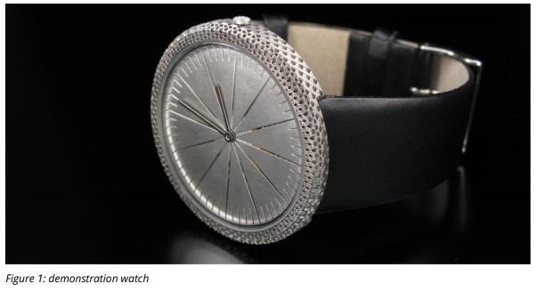 3D MICRO PRINT Case Study Watch
