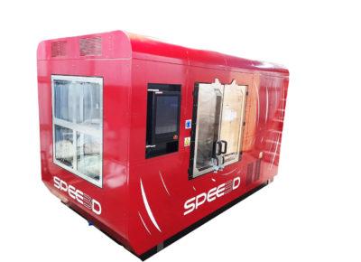 SPEE3D Foto WarpSPEE3D de lado y de frente (diagonal)_SPEE3D_3D in Metal Cut Out