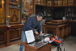Range Vision preparation_for_3D_scanning_of_ornaments_with_Spectrum_3D_scanner_1