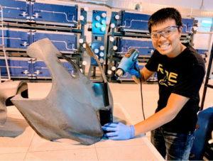 UMATEX Rosatom uses RangeVision 3D scanner to create a sports motorbike fairing for Kawasaki Puccetti Racing team