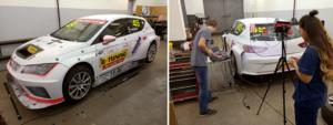 RANGE VISION - car body using photogrammetry