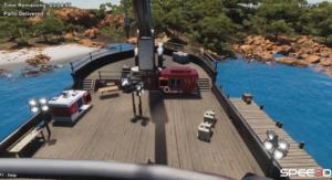Spee3D - High View-Ship environment