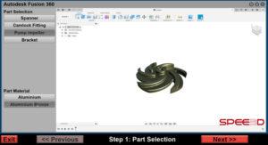 Spee3D - Part in Autodesk_SPEE3DCraft_SPEE3D