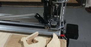 YetiTool Smartbench - Trophée Griffon dégrossissage du bas relief