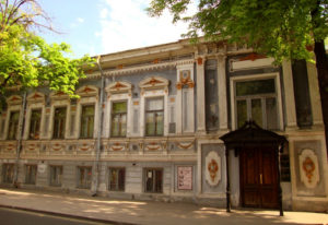 RANGEVISION 3D-scanning in the restoration of the Gorky Literature Museum