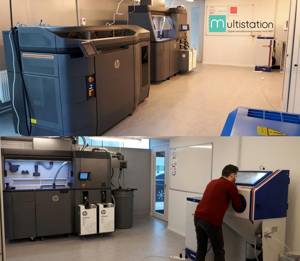 Digiteo CEA Saclay Multistation HP Multi Jet Fusion