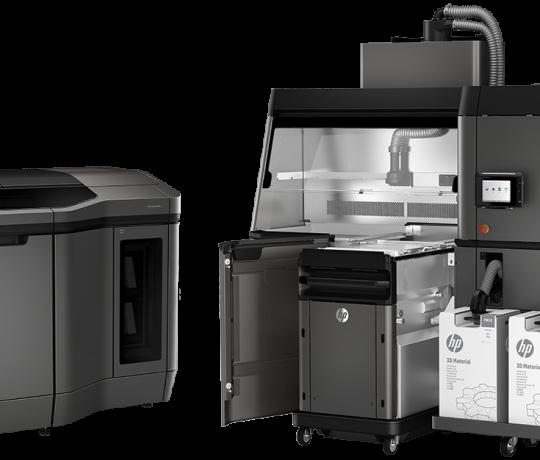 Imprimante 3D de production HP Multi Jet Fusion 3D