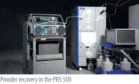 Powder Supply Unit PSV SLM SOLUTIONS 4